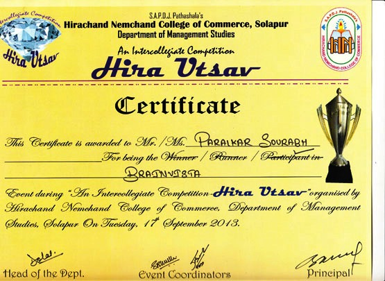 Student Achievements - Computer Engineering department at ...